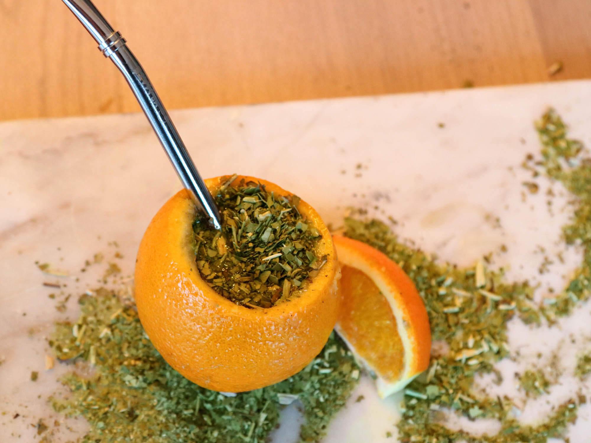 Mate sinaasappel Mate orange