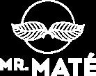 Mr. Maté logo white png